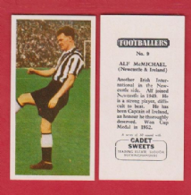 Newcastle United Alf McMichael Northern Ireland